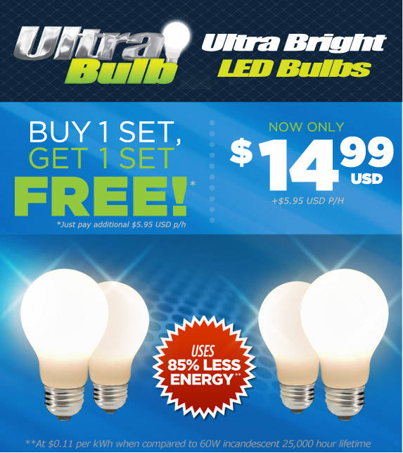 Order your Bell + Howell Ultra Bulb now!